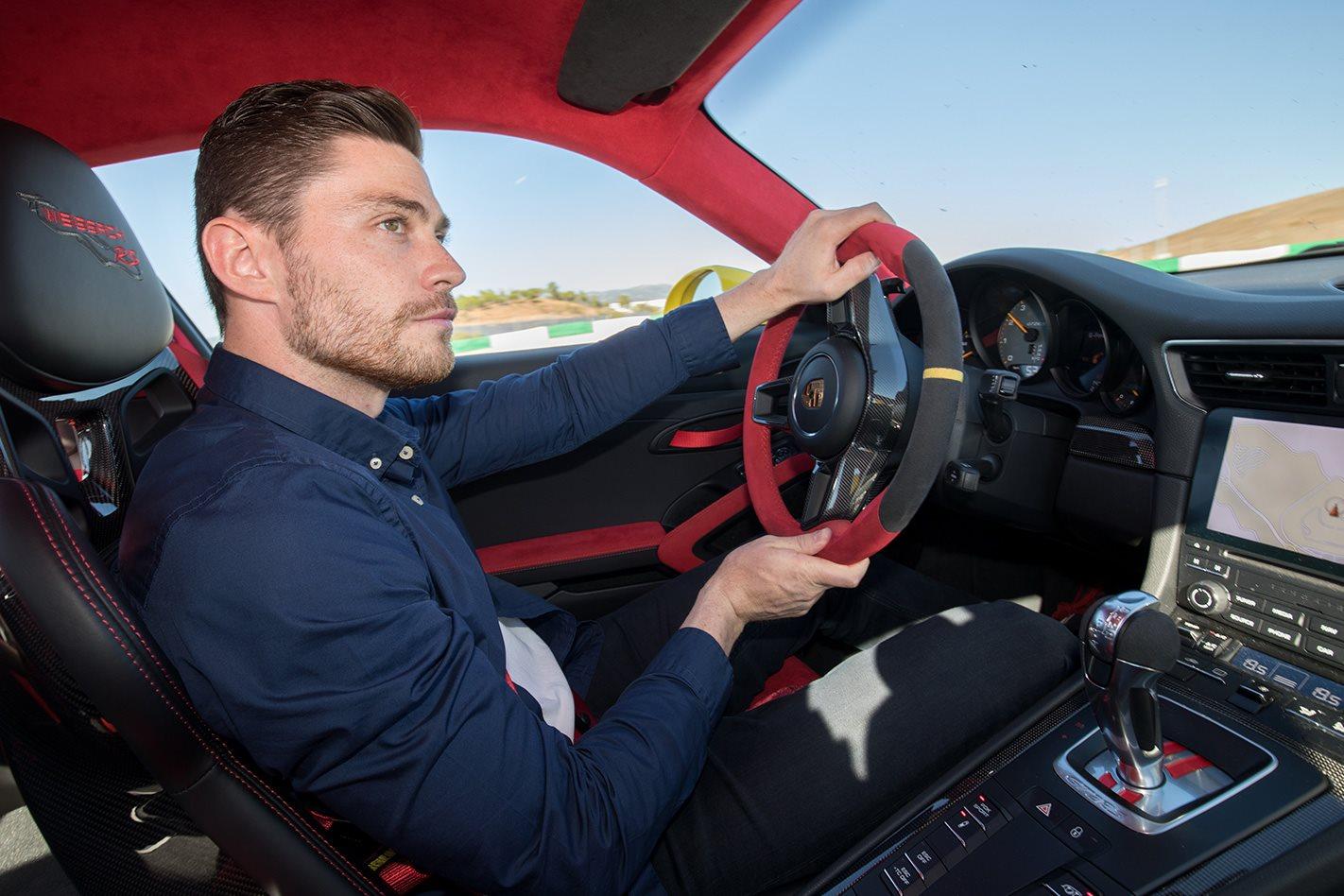 2018 Porsche 911 GT2 RS  alex inwood driving