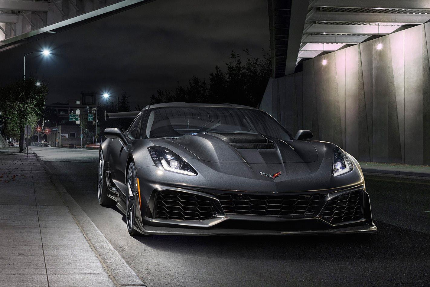 2019 Chevrolet Corvette ZR1 front