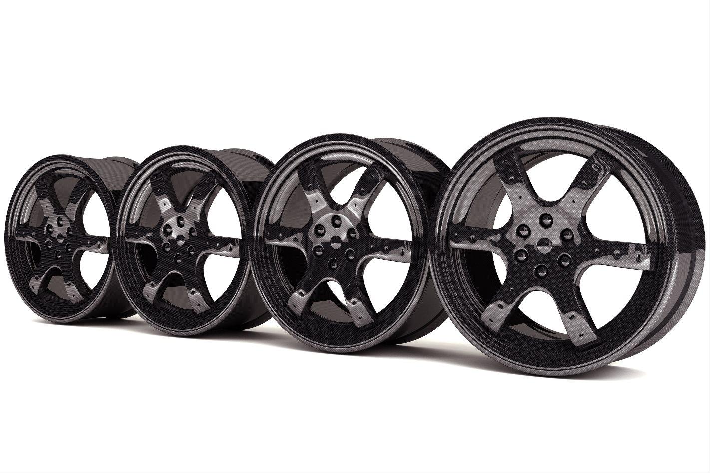 Carbonfibre wheels