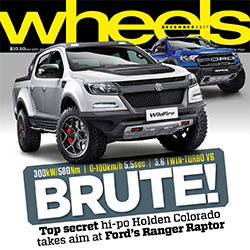 Wheels December 2017 Magazine cover