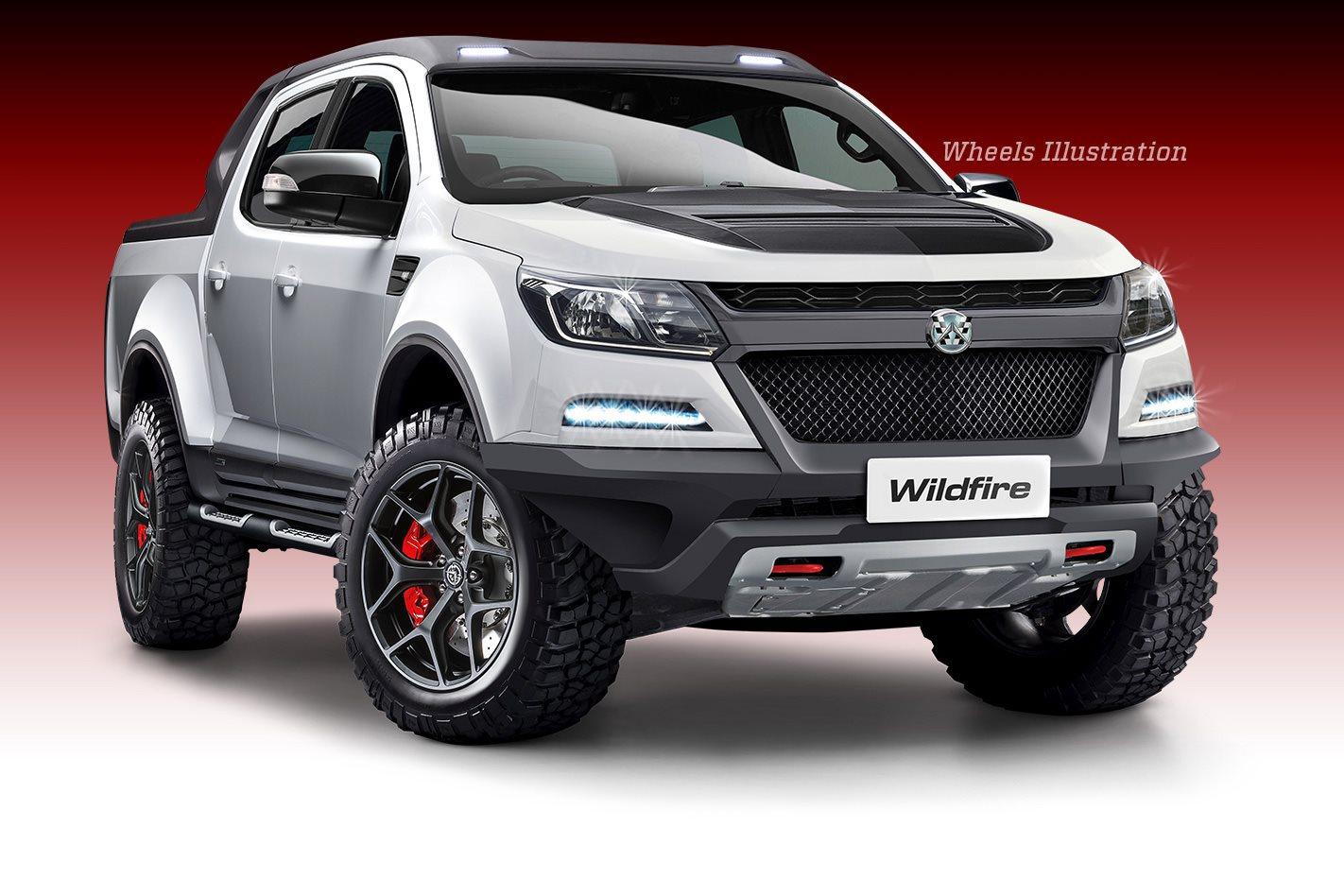 Walkinshaw Wildfire: 300kw twin-turbo V6 Holden Colorado