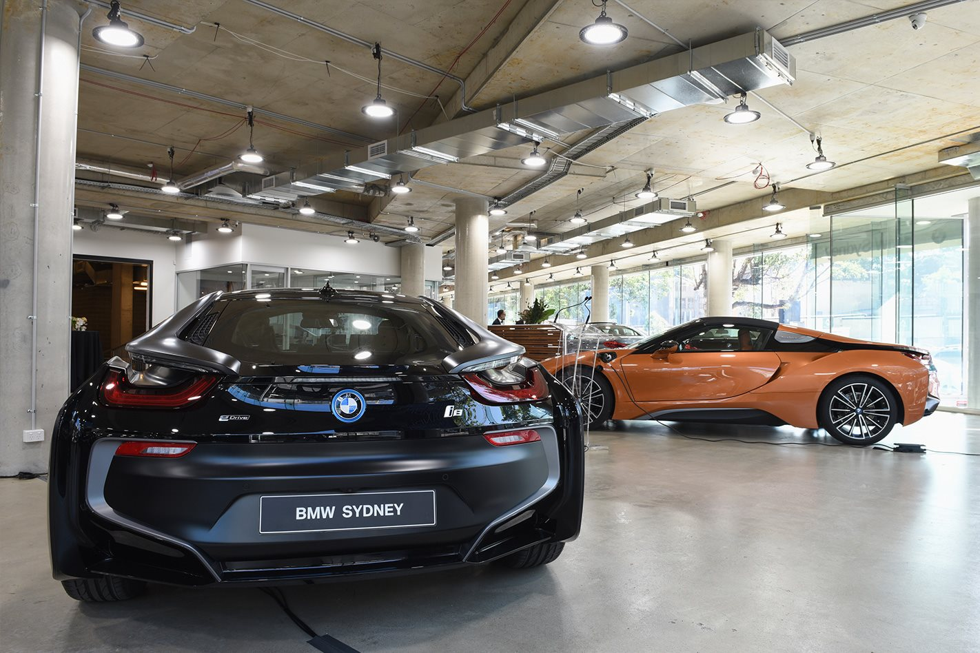 2018 Bmw I8 Roadster Steps Out In Sydney