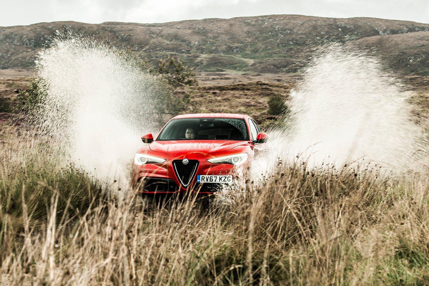 2017 Alfa Romeo Stelvio Irish Drive