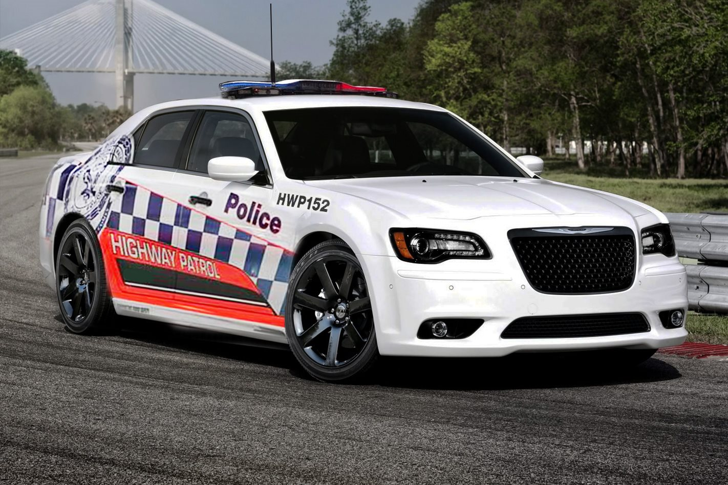Nsw Police Order 282km H V8 Patrol Cars Wheels