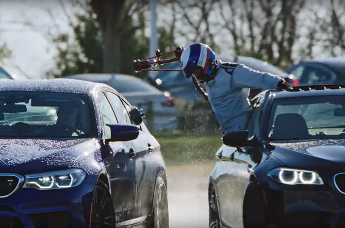 Bmw Reclaims Longest Drift World Record With Audacious 8 Hour M5 Stunt