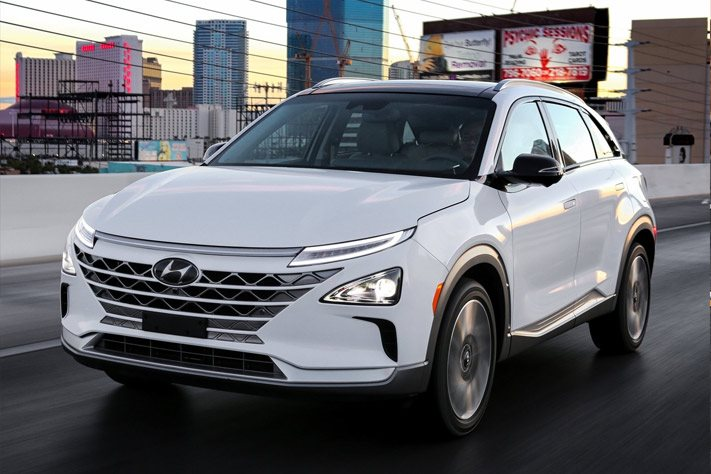 Fuel cell SUV boasts 370 miles, advanced driver tech