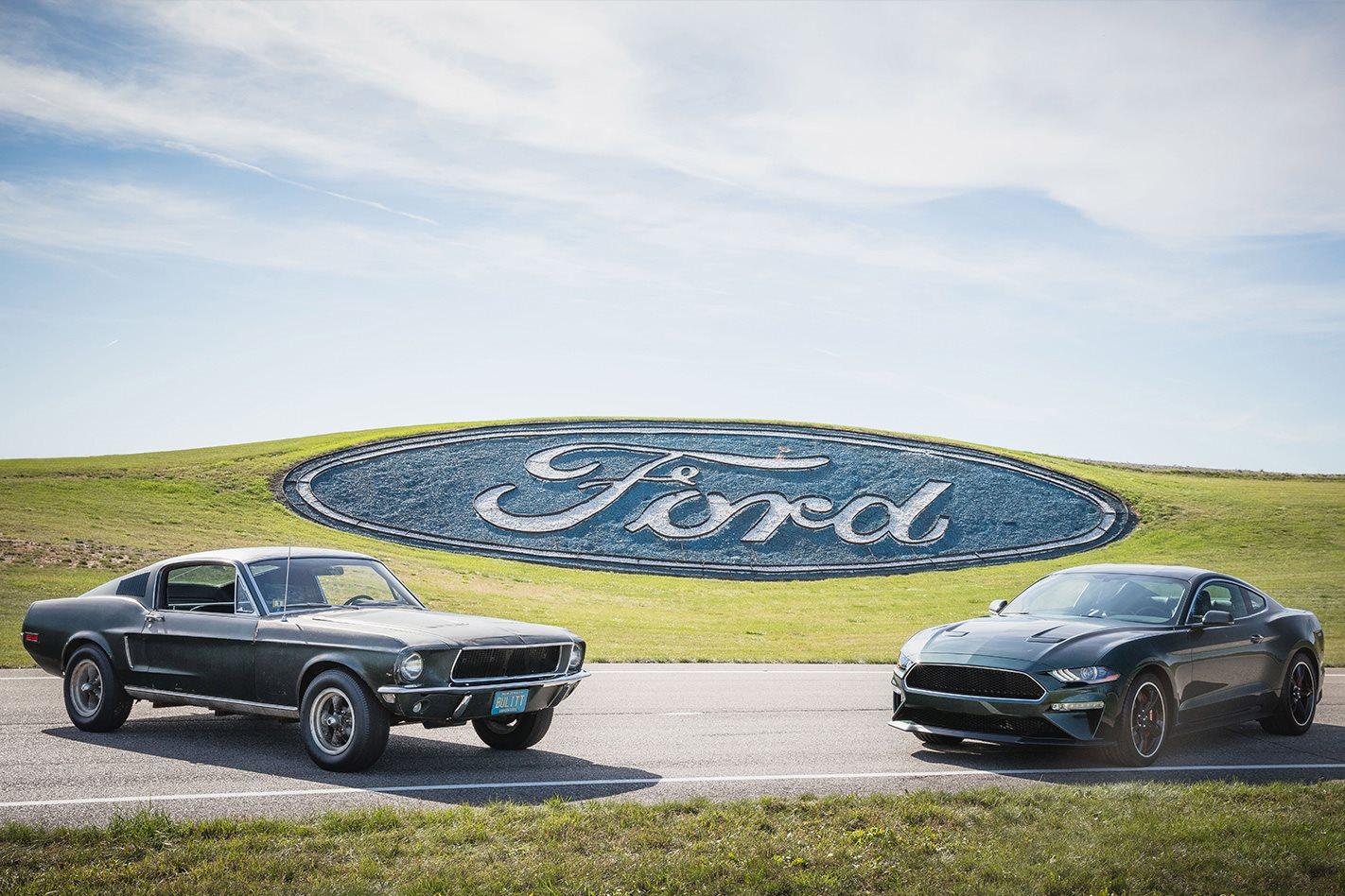 2018 Detroit Motor Show Mcqueen S Bullitt Mustang