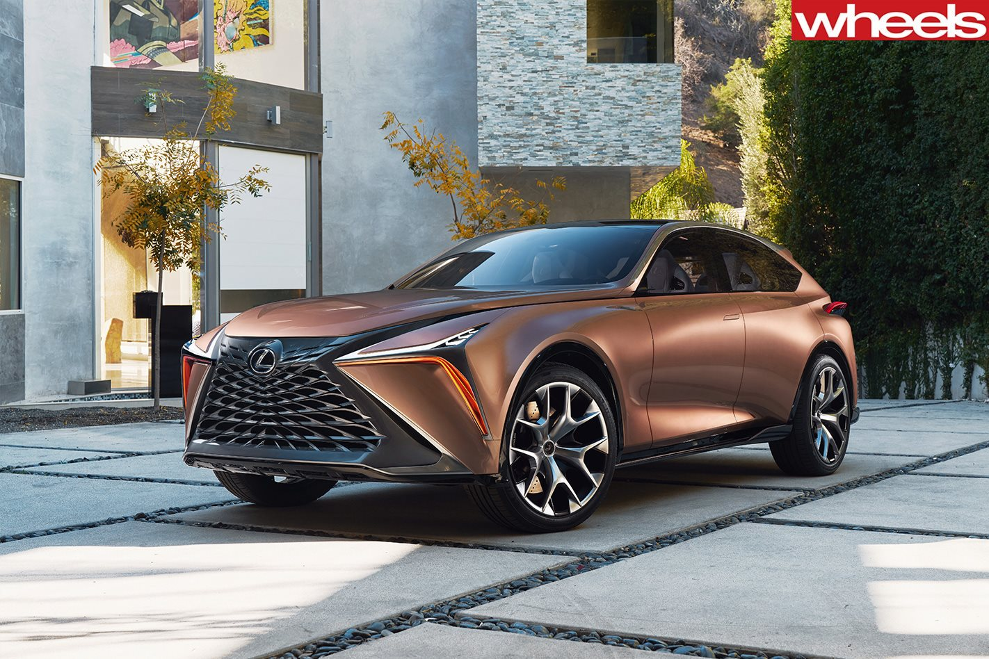 Lexus LF-1 concept looks toward an electrified, autonomous future