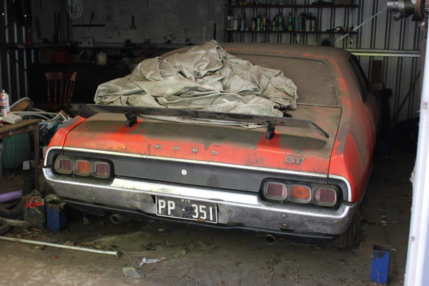 Barn-find Ford XA Falcon GT Sees The Light After 35-year