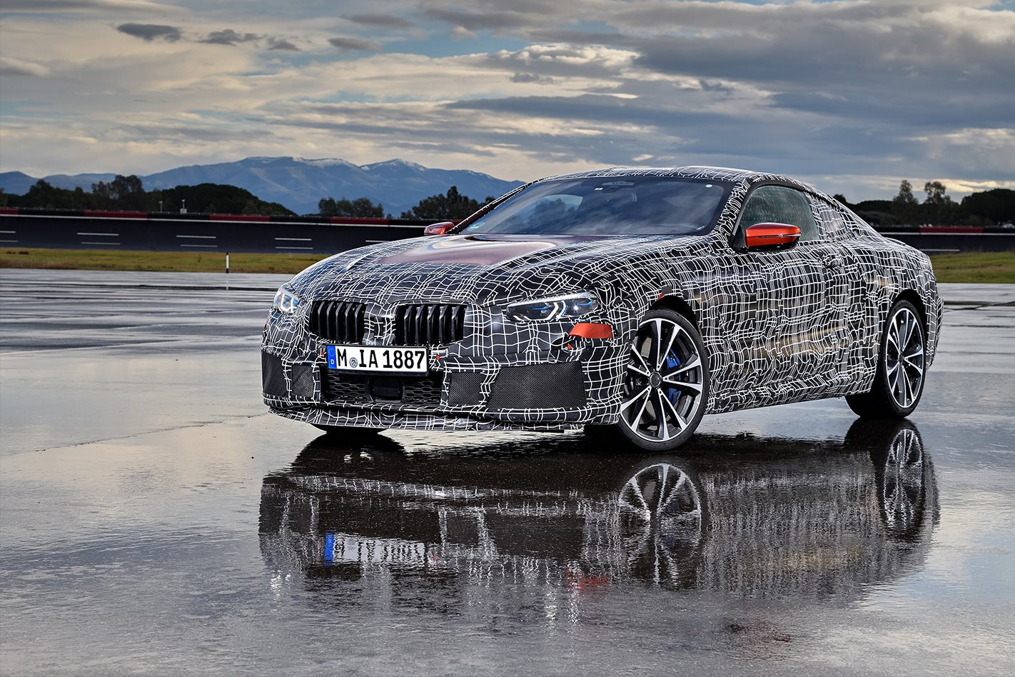 BMW 8 Series undergoes endurance testing phase