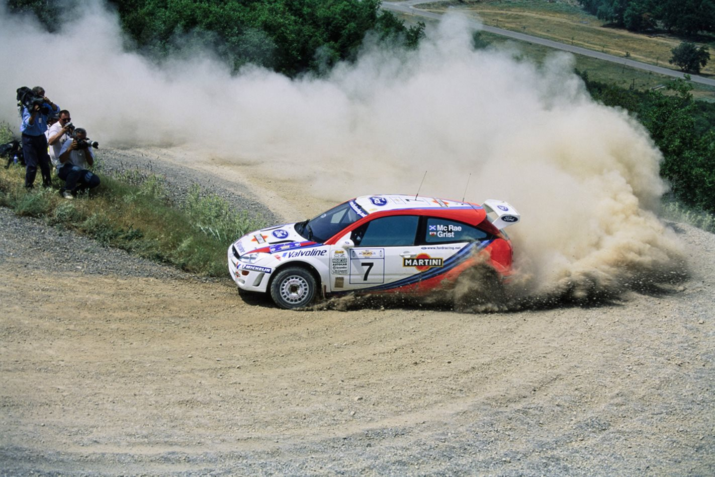 Colin McRae\'s WRC Ford Focus for sale