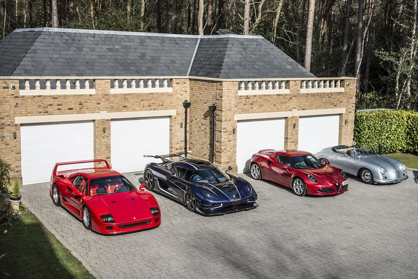 What is the ultimate three car garage for $250K?