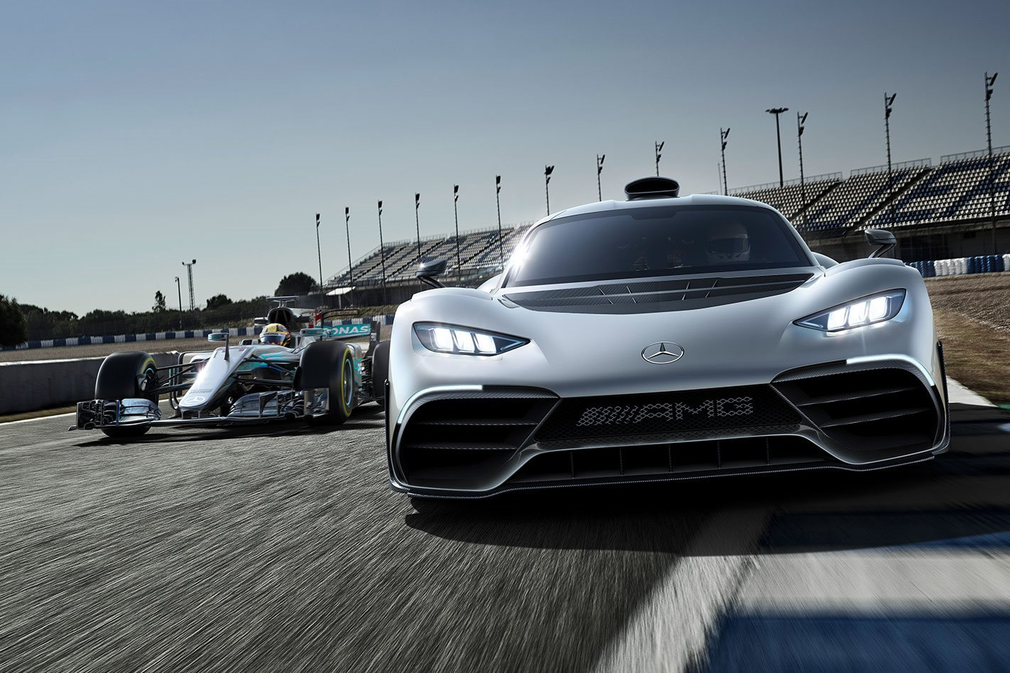 Mercedes Amg Project One Targets Outright Nurburgring Lap Record