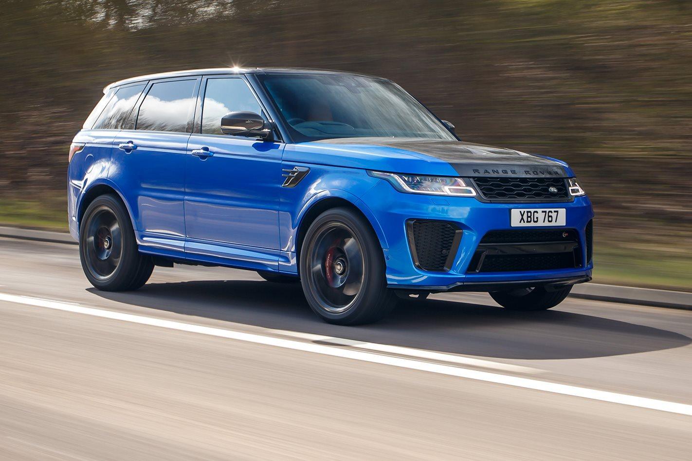 2015 Land Rover Range Rover Evoque Pure >> 2018 Range Rover Sport SVR review