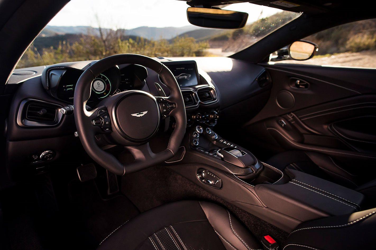 2018 Aston Martin Vantage interior