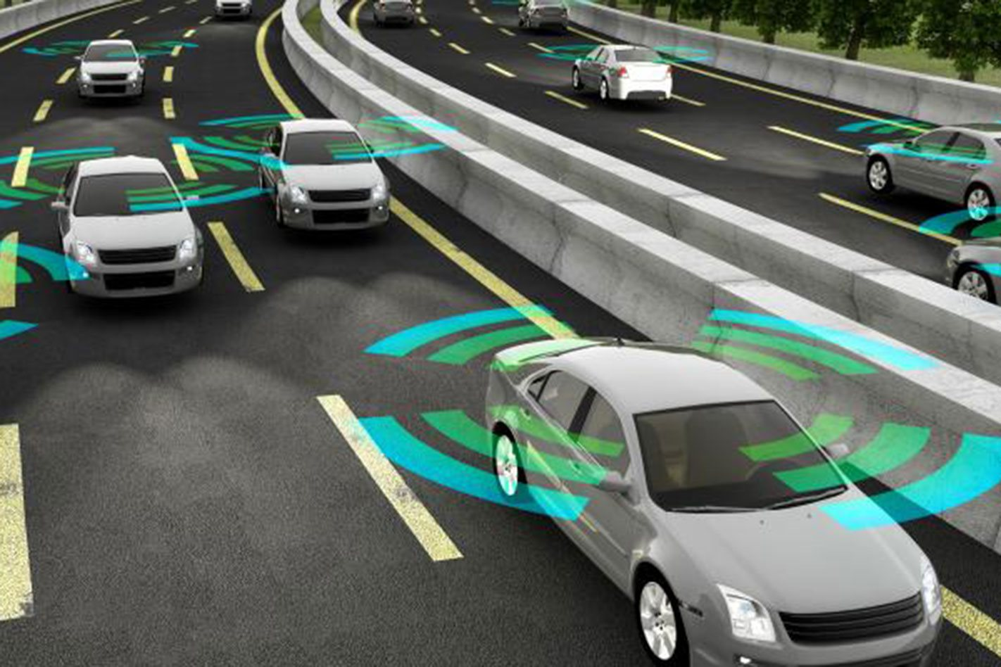 Toyota targets cars that 'talk' to each other by 2021