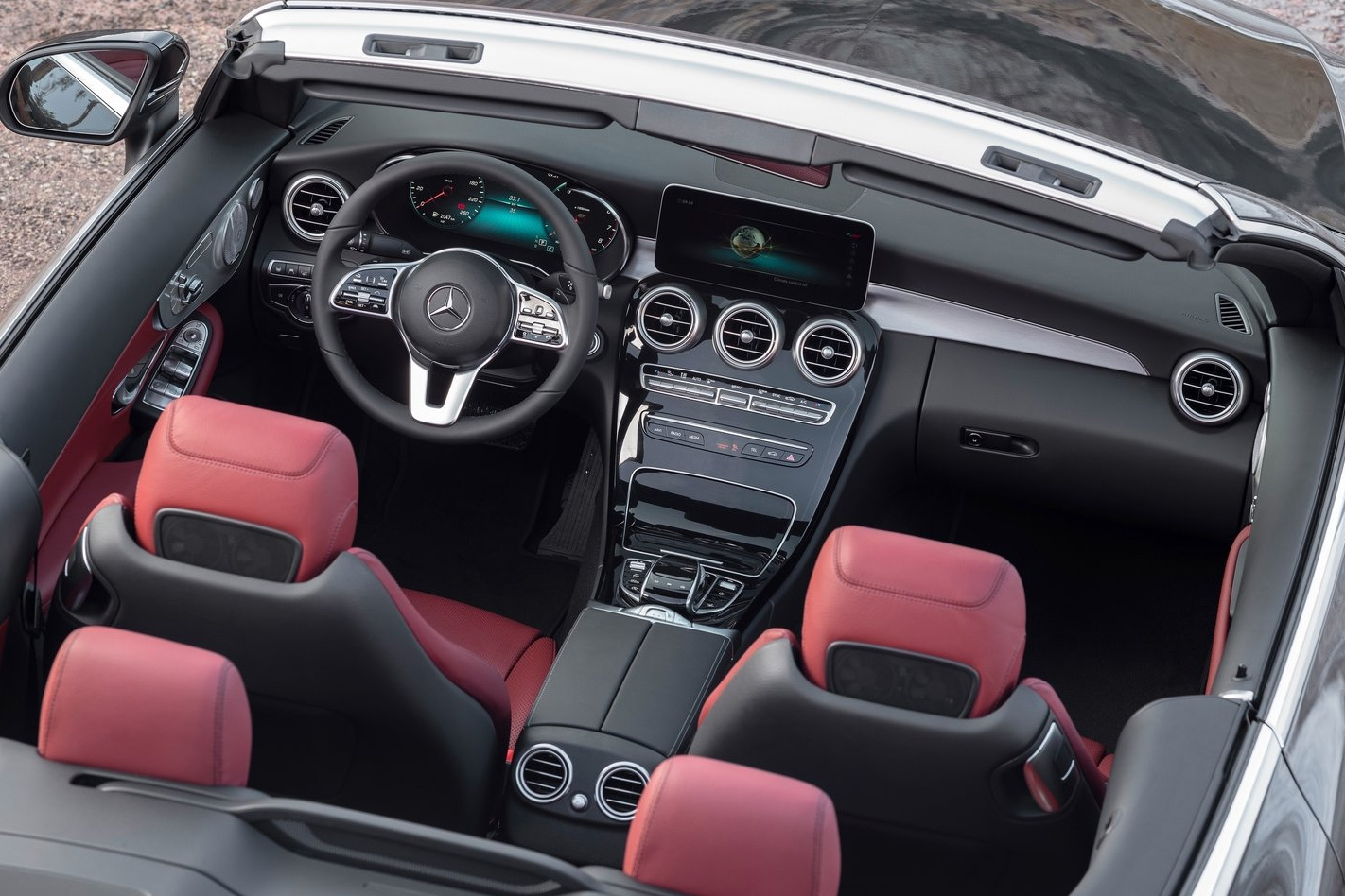2019 Mercedes Benz C Class Coupe And Cabriolet Gain Mild Hybrid Tech