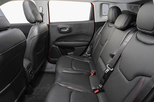 Jeep Compass rear seats