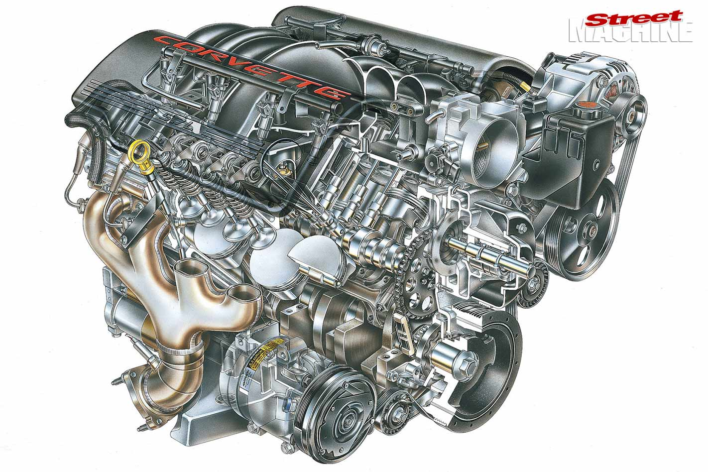 ls engine variants part one generation iiifrom the original 345hp (260kw) ls1 found in the c5 corvette, through to the 638hp (476kw) ls9 (the most powerful engine ever offered by gm in a production