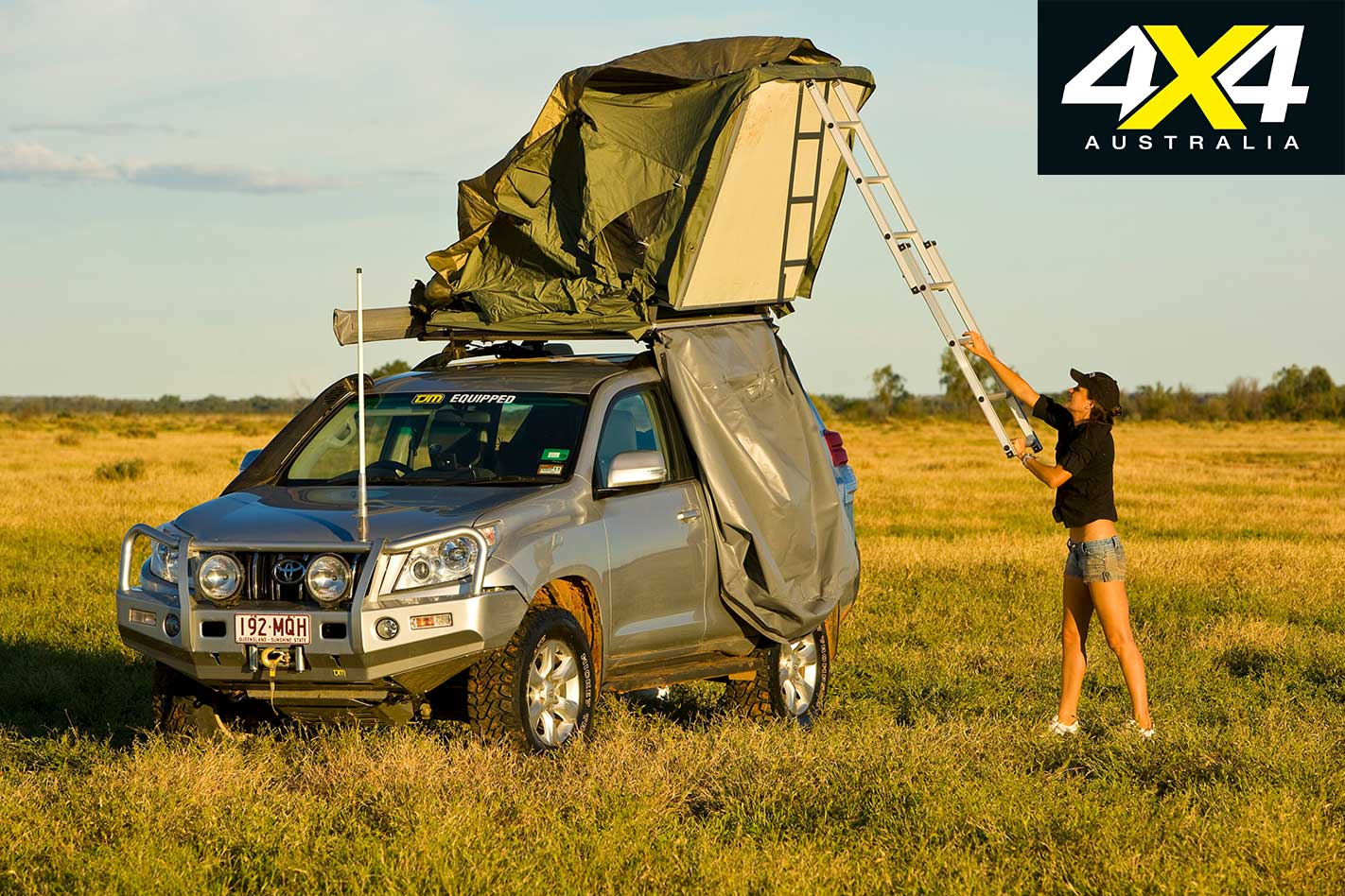 Adventure Kings Roof Top Tent Installation rooftop tent buyers' guide | 4x4 australia