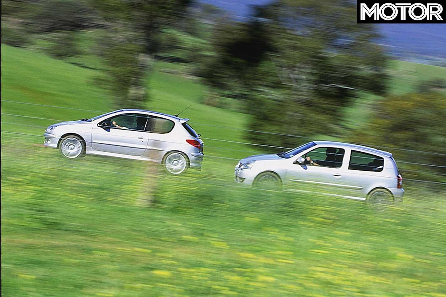 Peugeot 206 GTI Rear O//S brake pipe