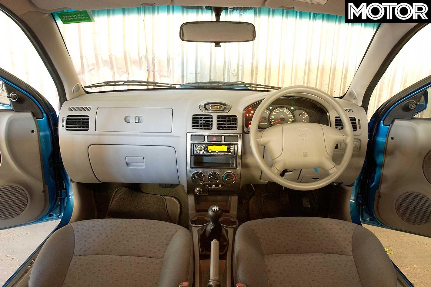 2005 Subaru Impreza WRX STi vs Kia Rio Sports-Pac comparison