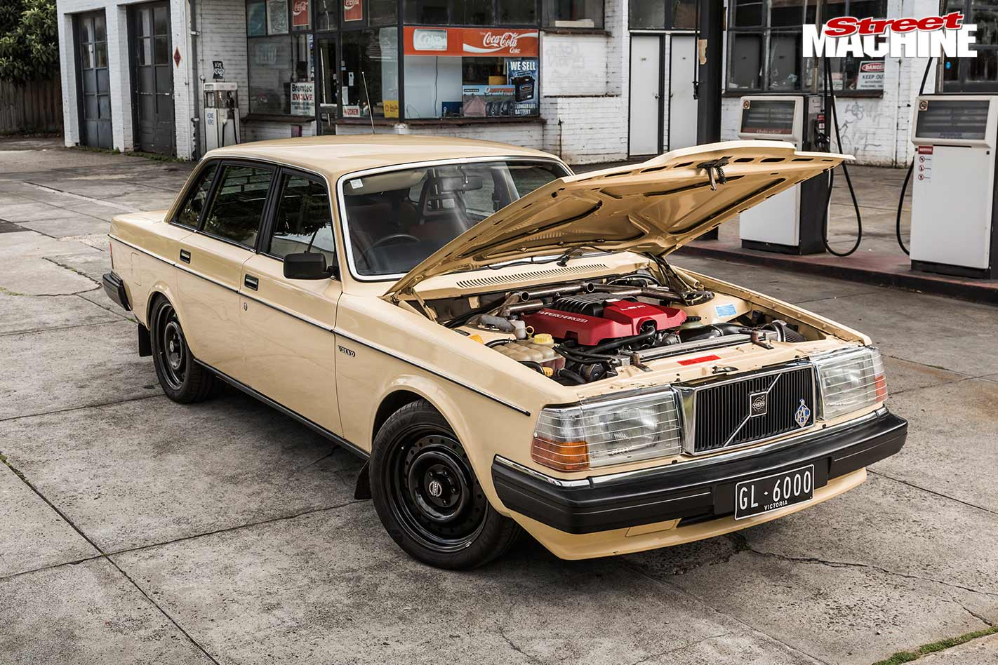 Blown Ls Powered 1983 Volvo 240gl Sleeper
