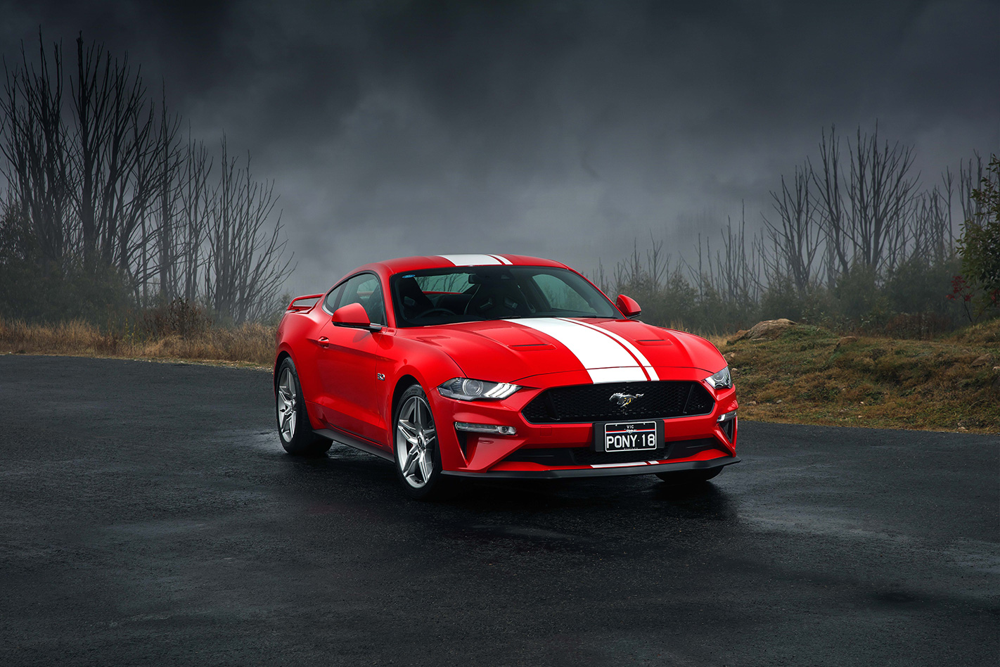 2018 Ford Mustang Review 1986 Gt 5 0 Convertible For Those Slightly Elevated Stickers You Get A Truckload Of Sparkly New Features Starting With The Proper Full Led Headlight Arrangement Us Car