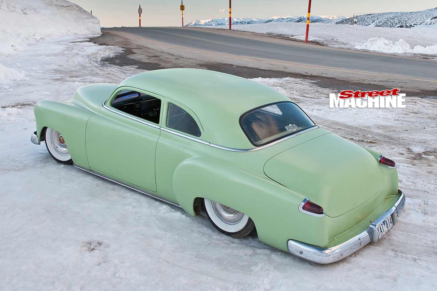 Chopped Bagged Custom 1951 Chevrolet Sedan Chevy 2 Door