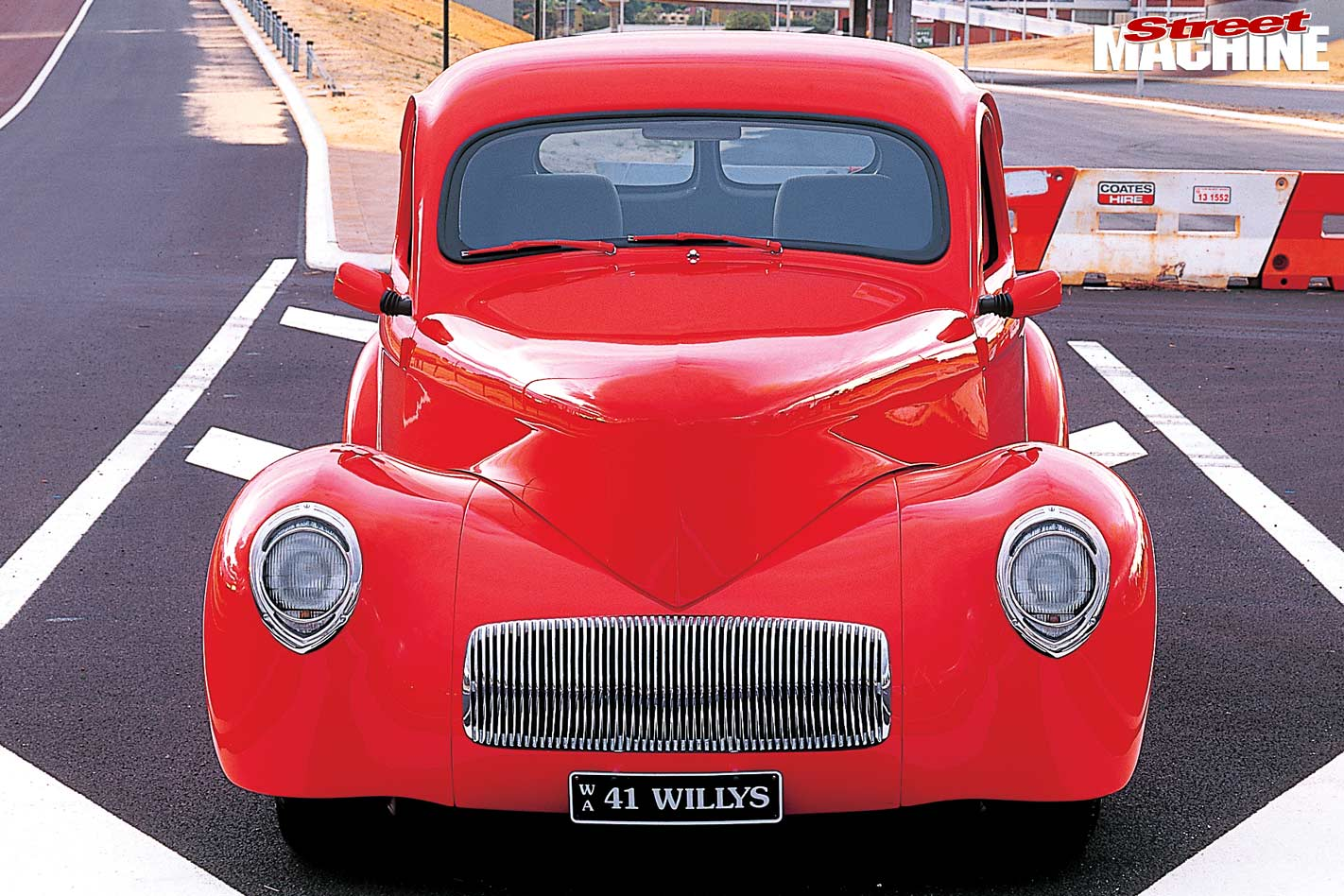 383-cube 1941 Willys coupe - flashback