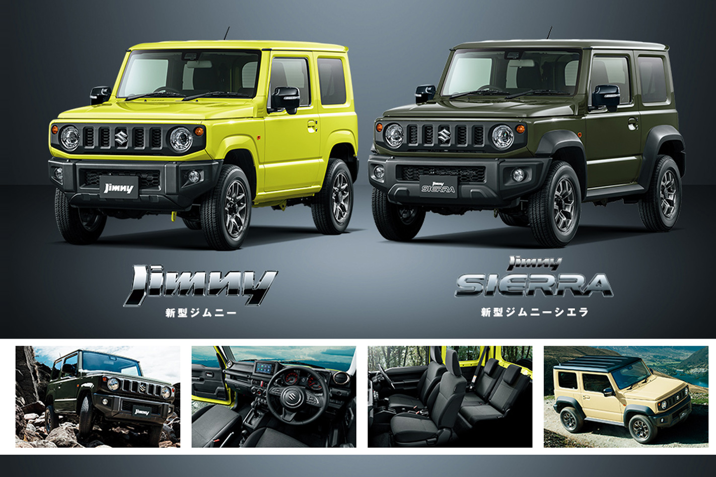 2019 Suzuki Jimny: News, Design, Release >> 2019 Suzuki Jimny Officially Revealed