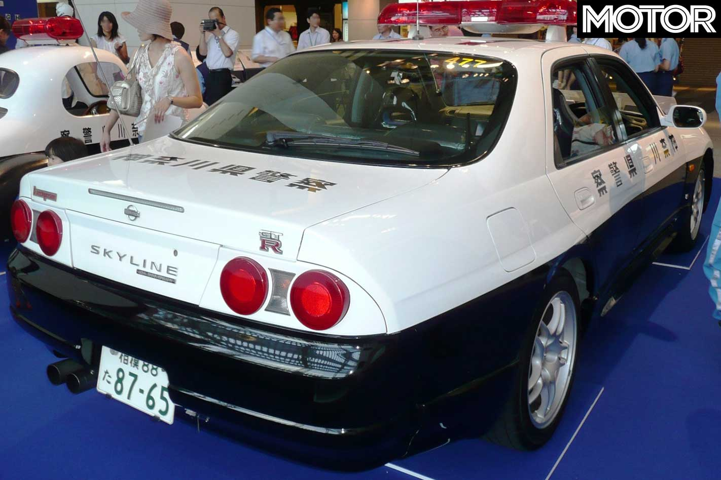Japan's best police cars