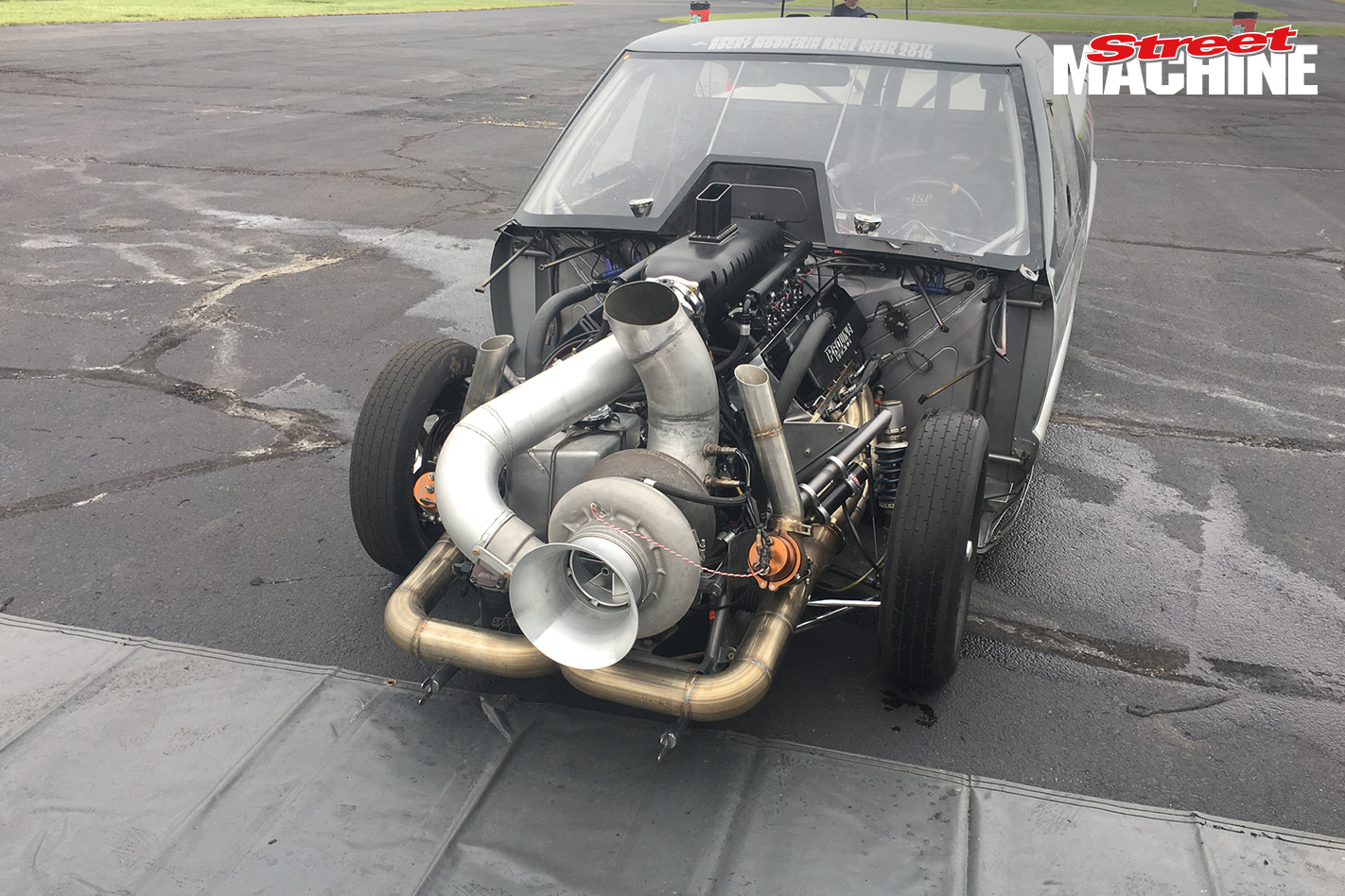 Larry Larson's Chev S10 gets a giant single turbo for Street