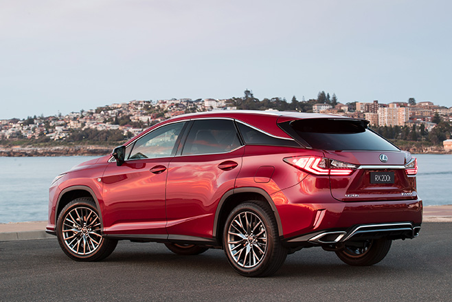 2017 Lexus Rx Range Gains More F Sport Variants Price Increases