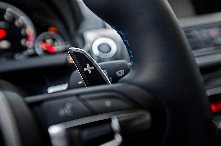 How and When to Change Gears with Paddle Shifters in an