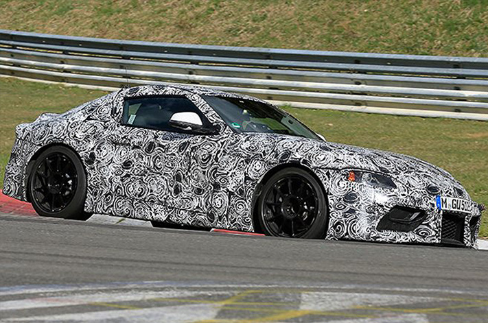 ... Takes Some Styling Cues From The 2014 Toyota FT 1 Concept, Though The  Front End Appears To Trace Back To The Last Generation, JZA80 Supra From  2002.