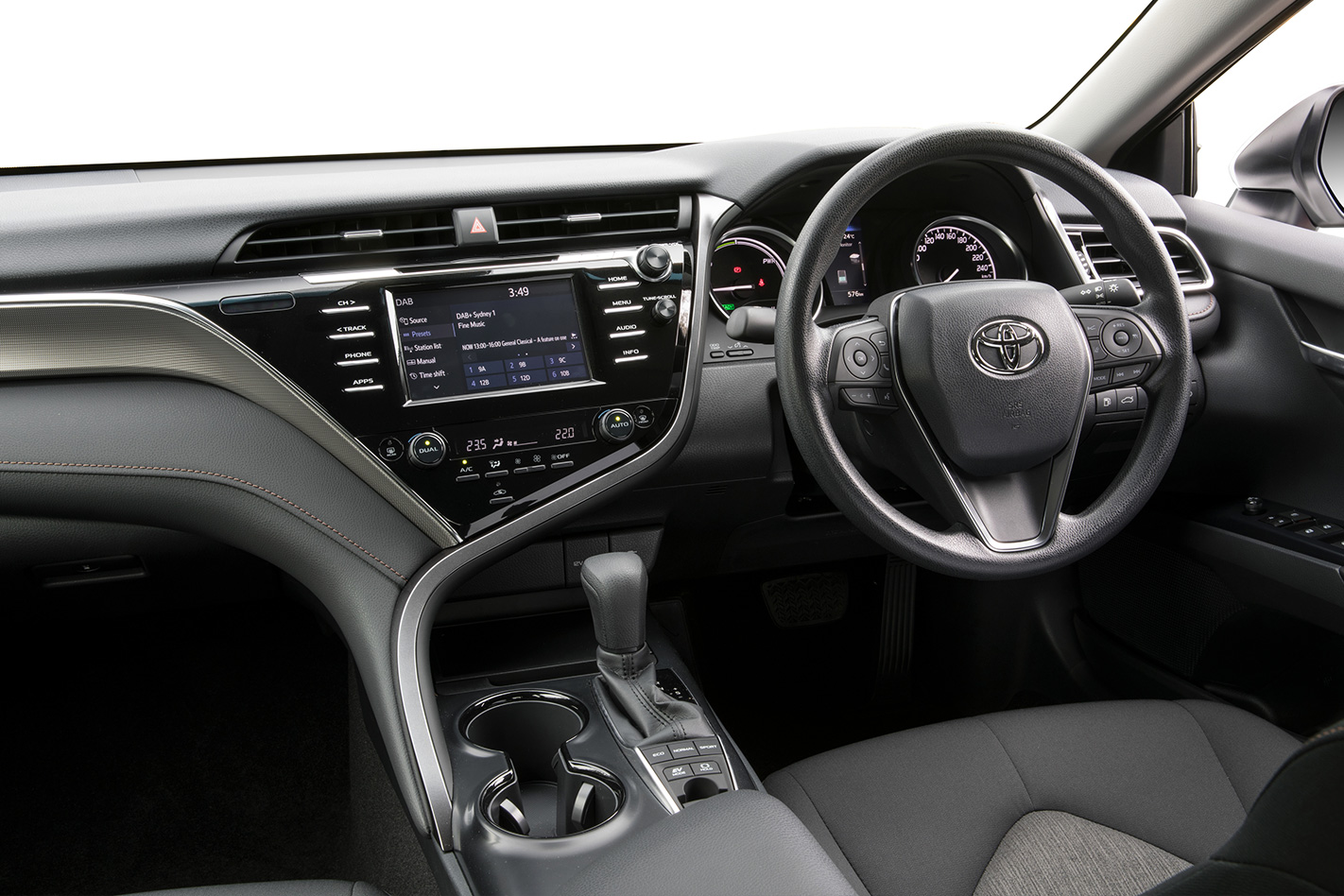 Toyota Camry: Shift ranges and their functions