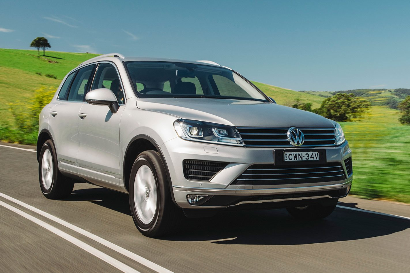 Volkswagen Touareg 2018 Review Price Features