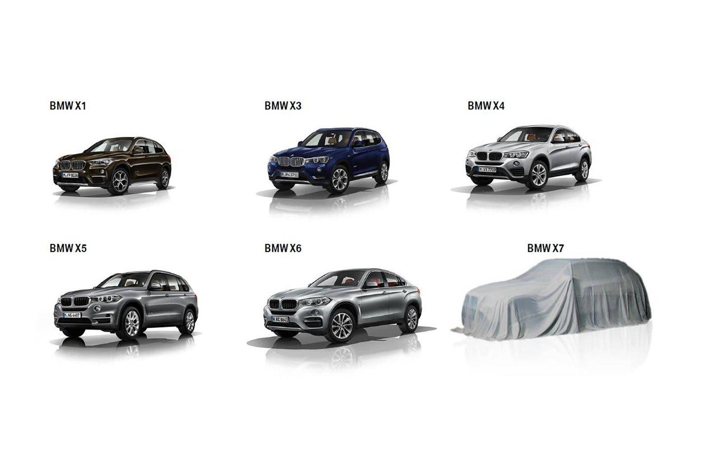 4x4 Bmw X7 >> Bmw X7 Premium Seven Seater On The Horizon