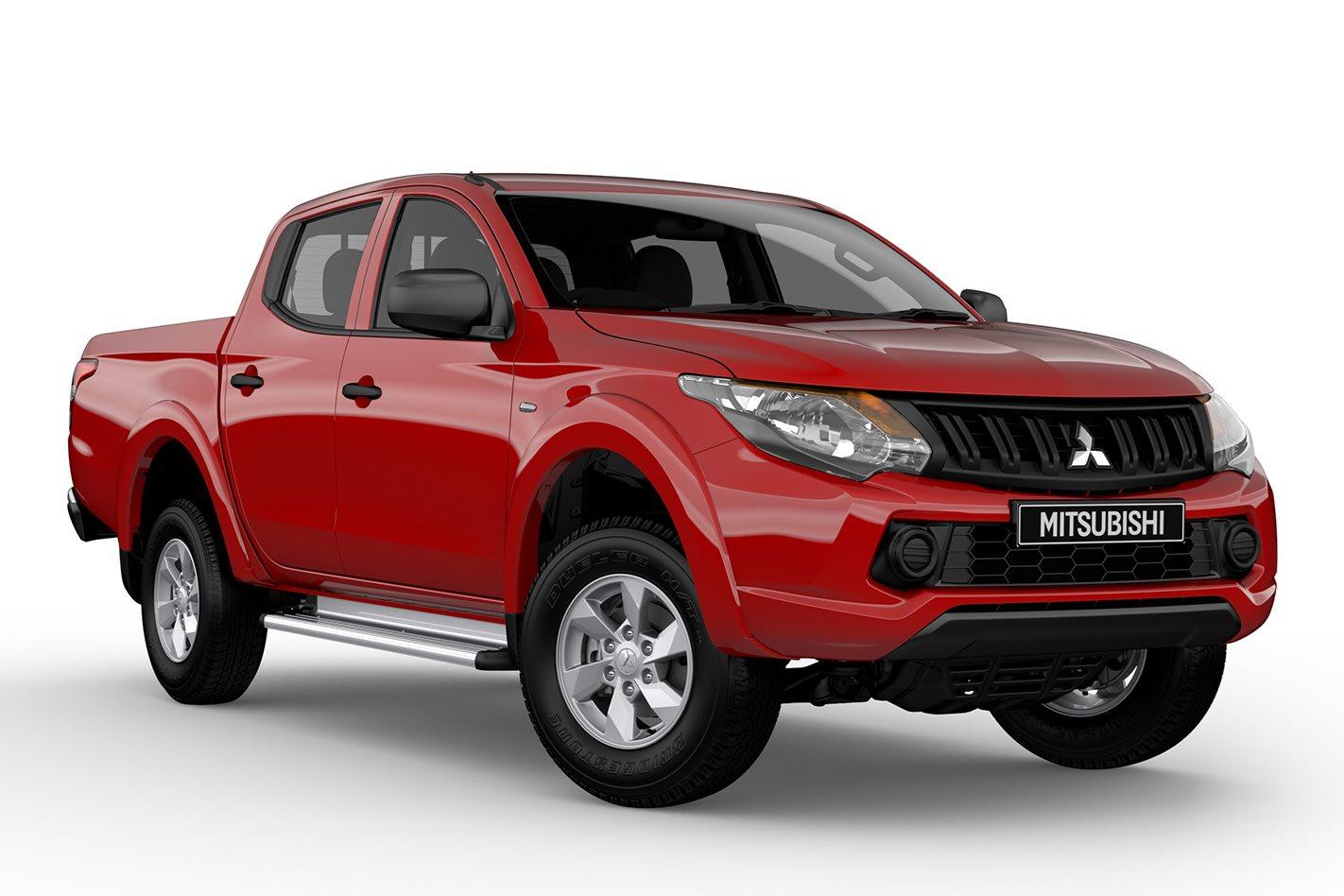 Mitsubishi Triton Glx Adds Bonuses To 4wd Dual Cab Ute