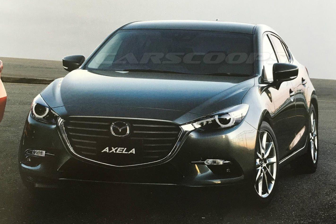 Mazda 3 Facelift Image Leaked