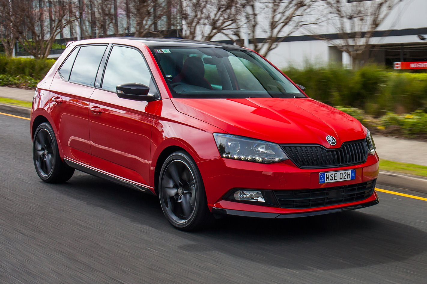 skoda fabia monte carlo revealed. Black Bedroom Furniture Sets. Home Design Ideas
