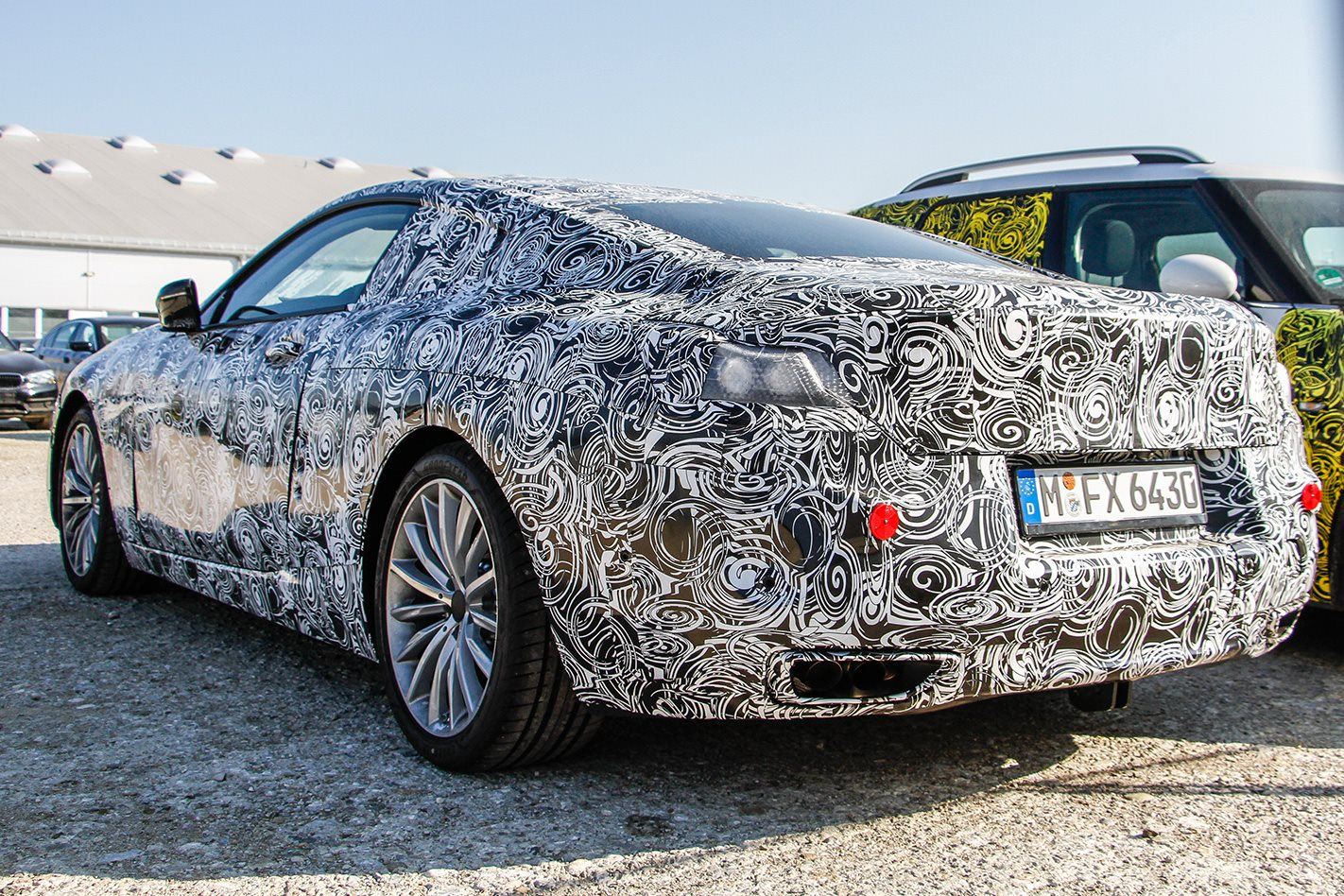 Car Camouflage How Carmakers Hide Prototypes Explained