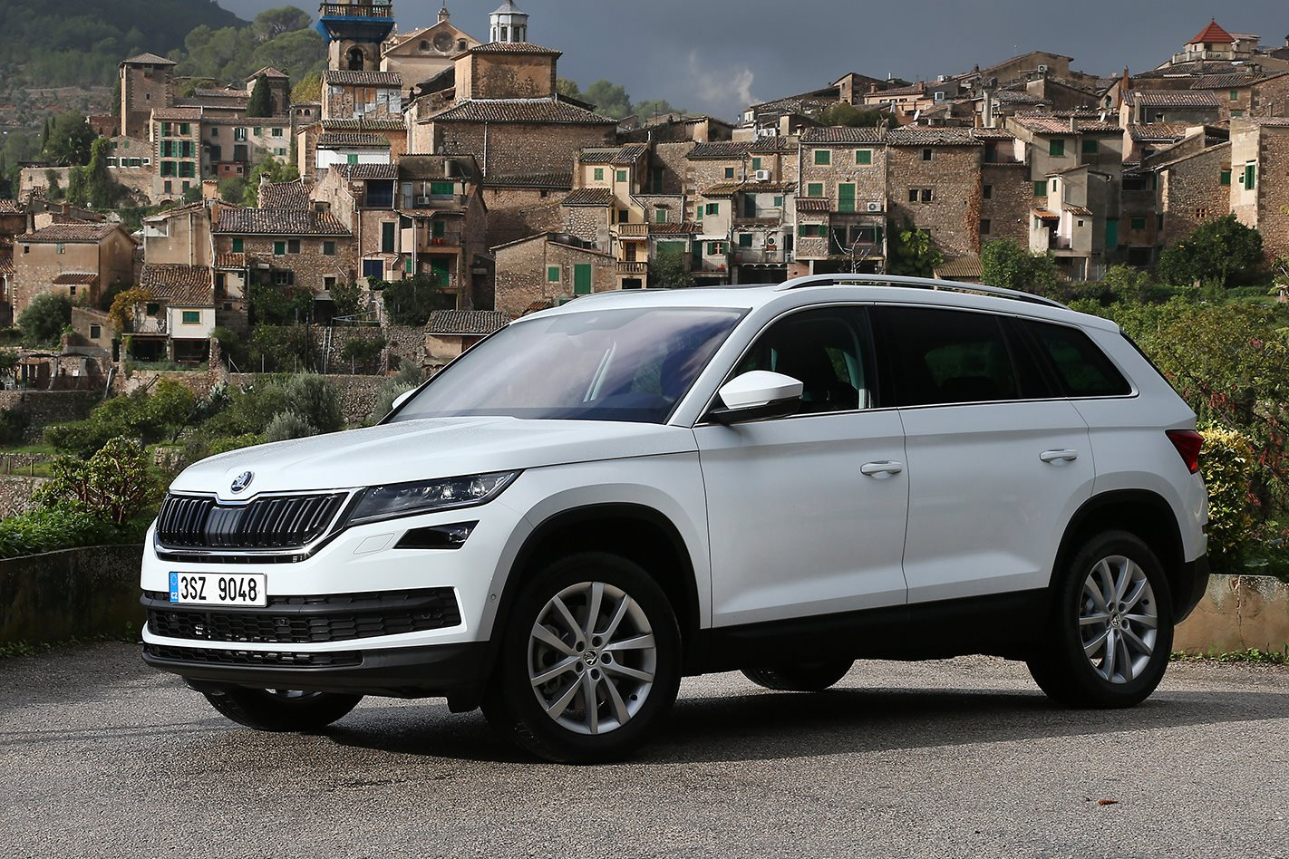 2017 skoda kodiaq quick review. Black Bedroom Furniture Sets. Home Design Ideas