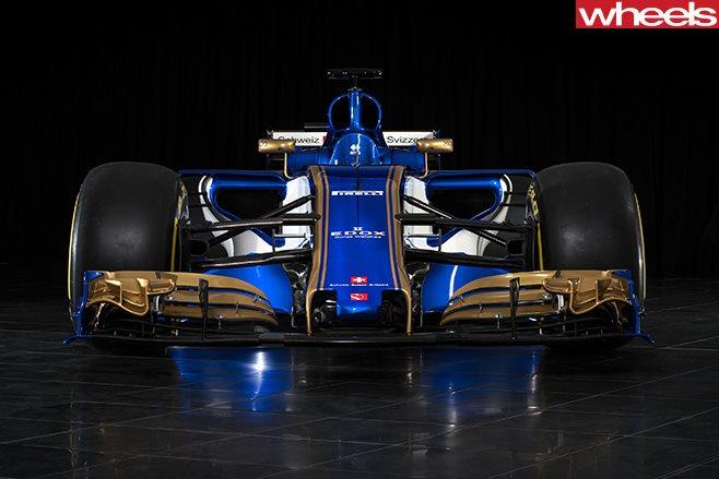 Sauber F1 race car
