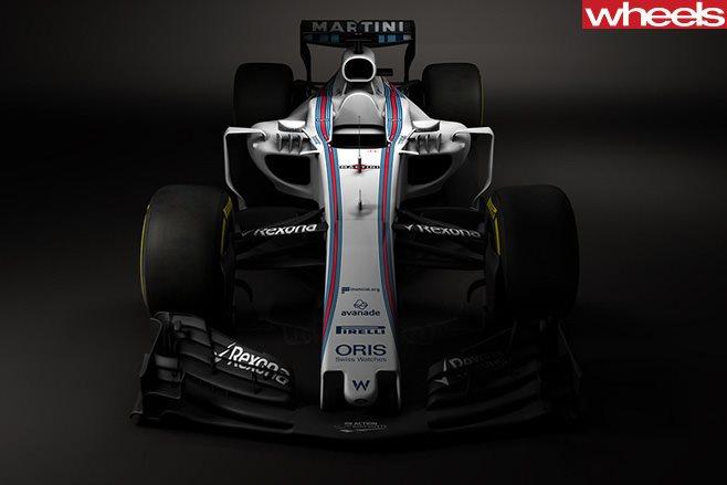 Williams F1 race car