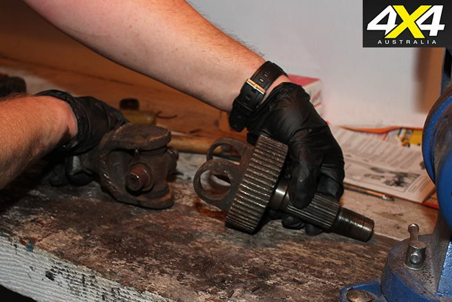 How to separate shafts