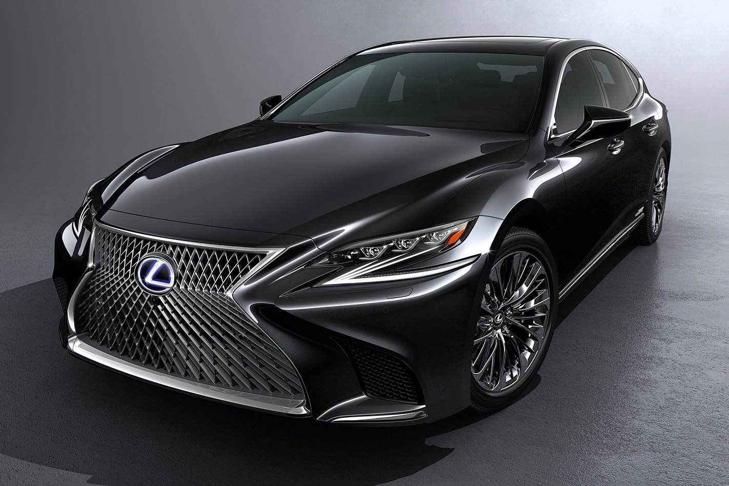 2017 geneva motor show lexus ls 500h revealed. Black Bedroom Furniture Sets. Home Design Ideas