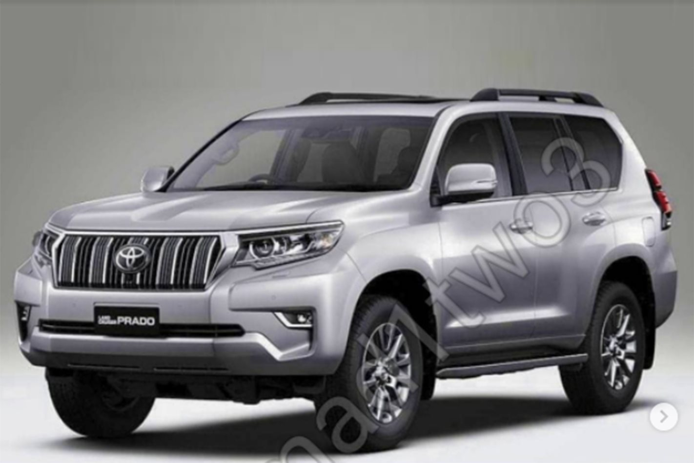 2018 toyota landcruiser prado facelift leaked. Black Bedroom Furniture Sets. Home Design Ideas