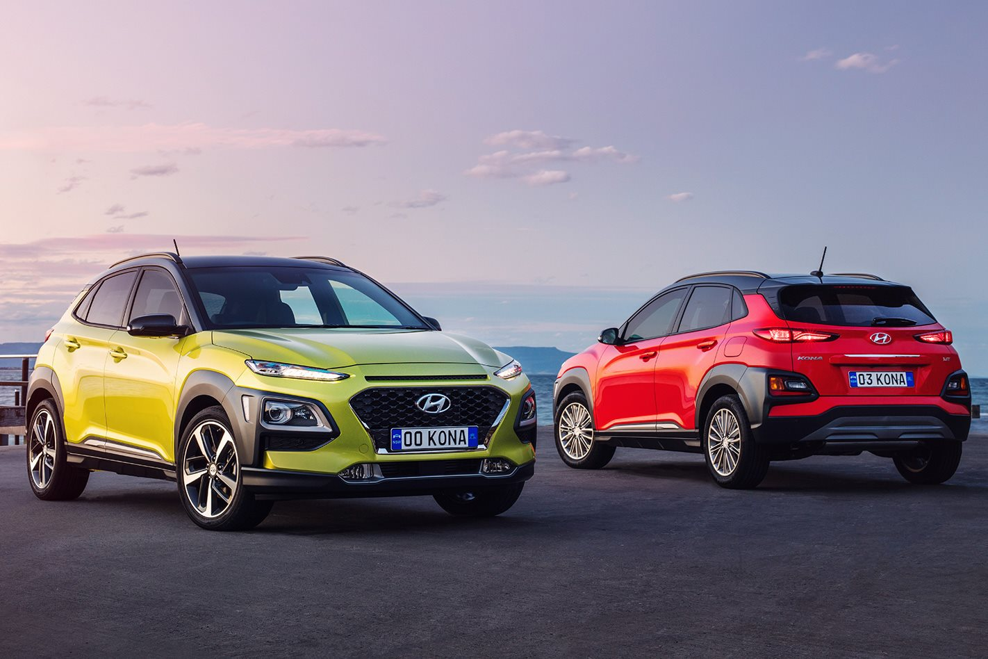 2018 hyundai kona pricing and features. Black Bedroom Furniture Sets. Home Design Ideas